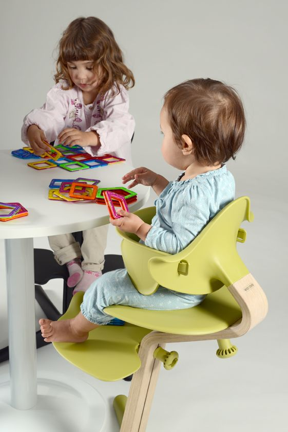 Nomi by Evomove around the table - kids, children, highchair, fun, play