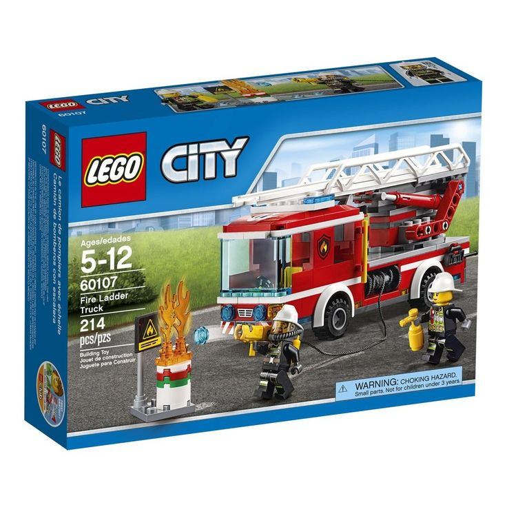 LEGO CITY Fire Ladder Truck 60107 New (Free Two Day Shipping) #LEGO