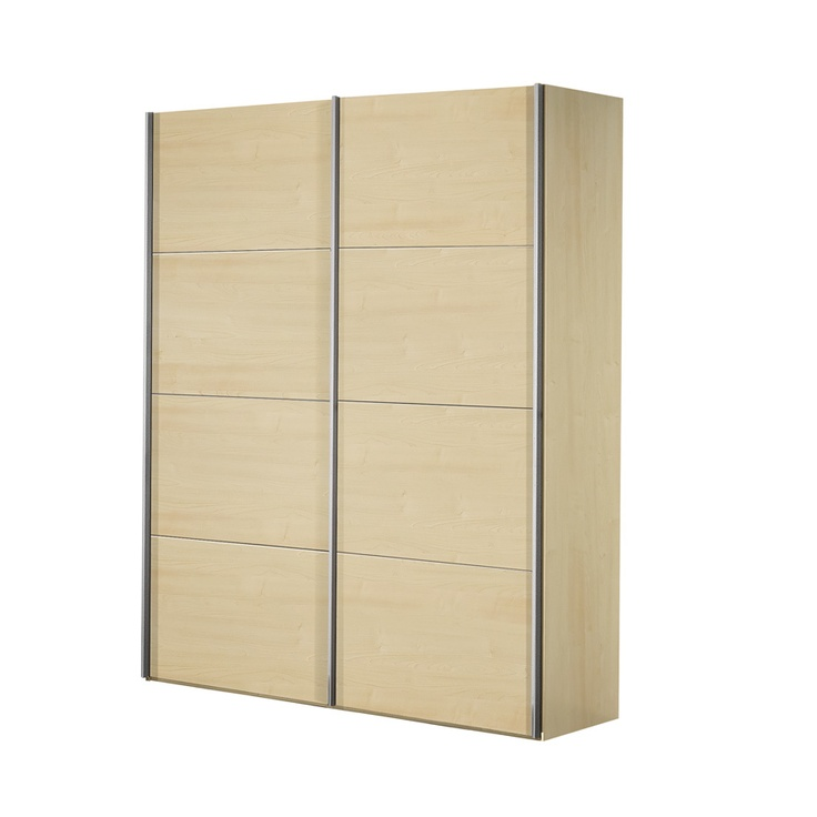 Arte-M Kick  Sliding Door Wardrobe in Maple | Wayfair UK