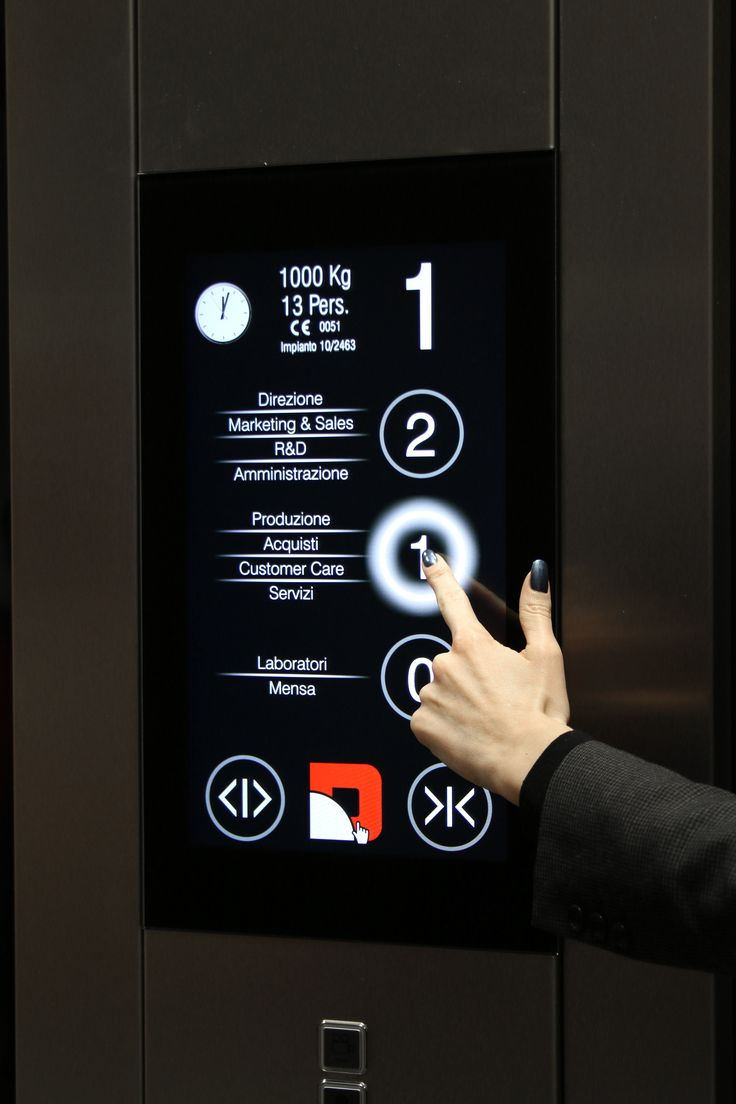 """The """"All in One"""" touch solution features a 18,5"""" touch panel which also embeds the display"""