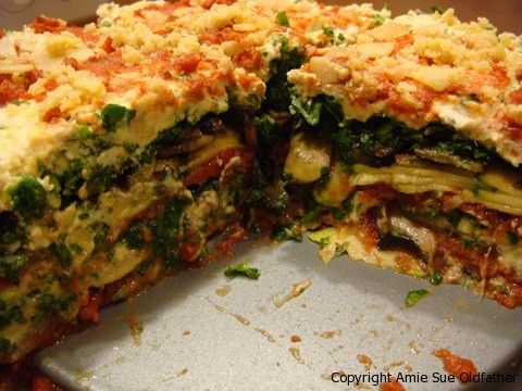 Living Lasagna - All raw, all delicious.