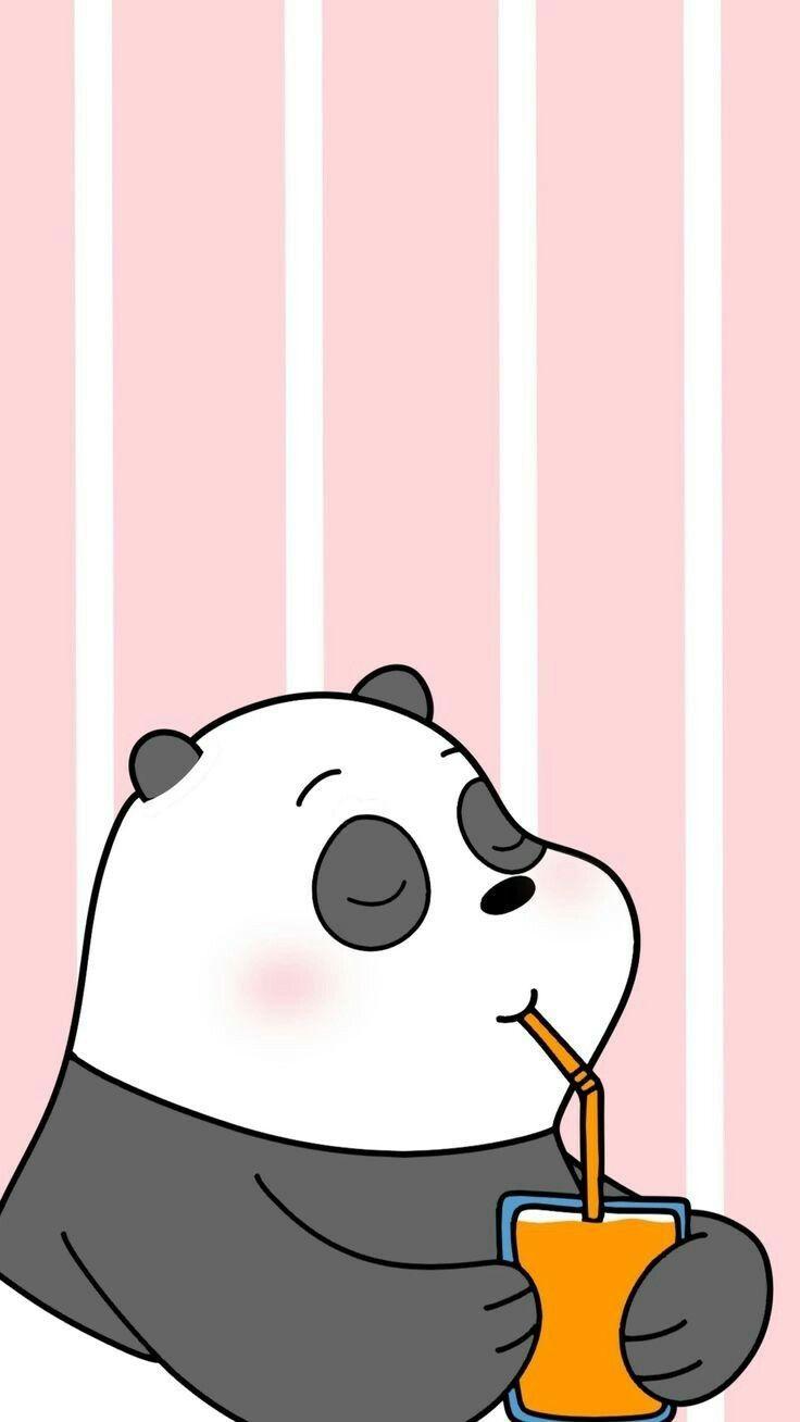 Pin De 𝙃𝙖𝙥𝙥𝙞𝙡𝙮 𝙈𝙖𝙬𝙖𝙙𝙖 En 아기 We Bare Bears Fondos De Pantalla Panda Fondo De Pantalla Animado