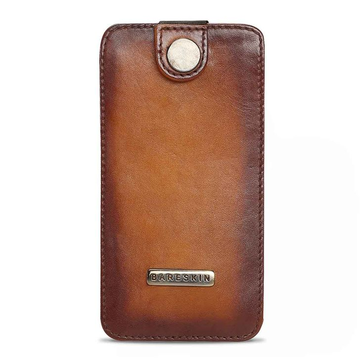 BUY #BARESKIN VEG TANNED #HANDPAINTED AUTO PULL #MOBILECOVER ONLINE AT BEST PRICE