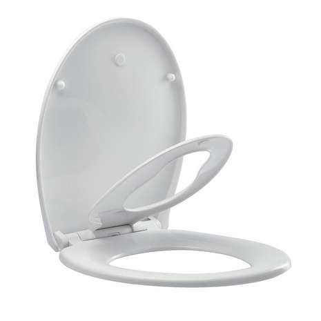All in One Adult & Child Toilet Seat | Dunelm
