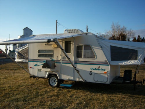 2001 Palomino Stampede S 17 God Bless Our Camper