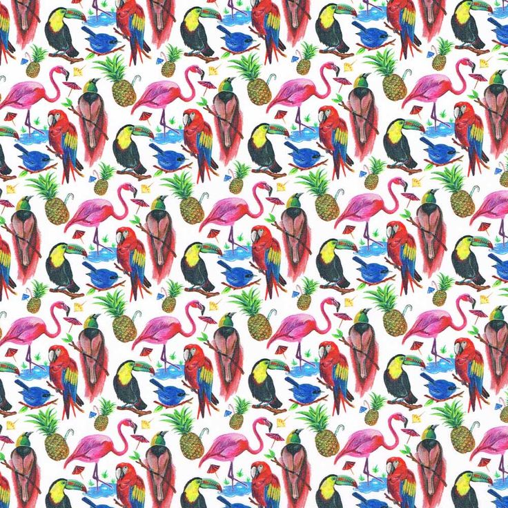 Liberty Fabric Tana Lawn Birds of Paradise A