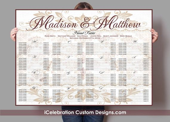 Best Seating Chart Images On   Receptions Wedding