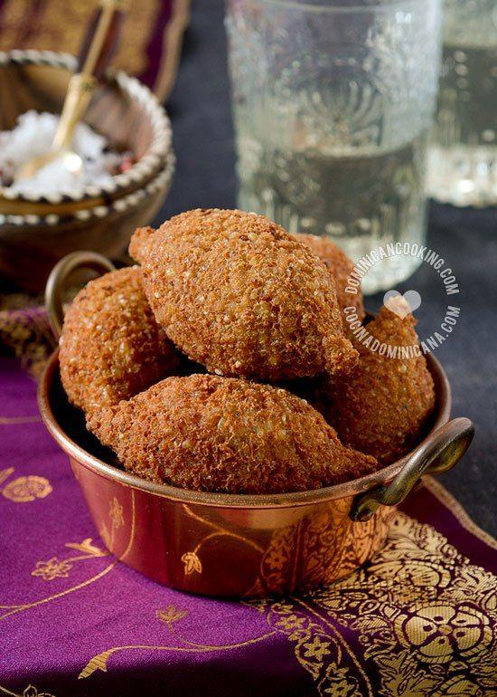 Kipes (Quipes) Dominicanos - Receta