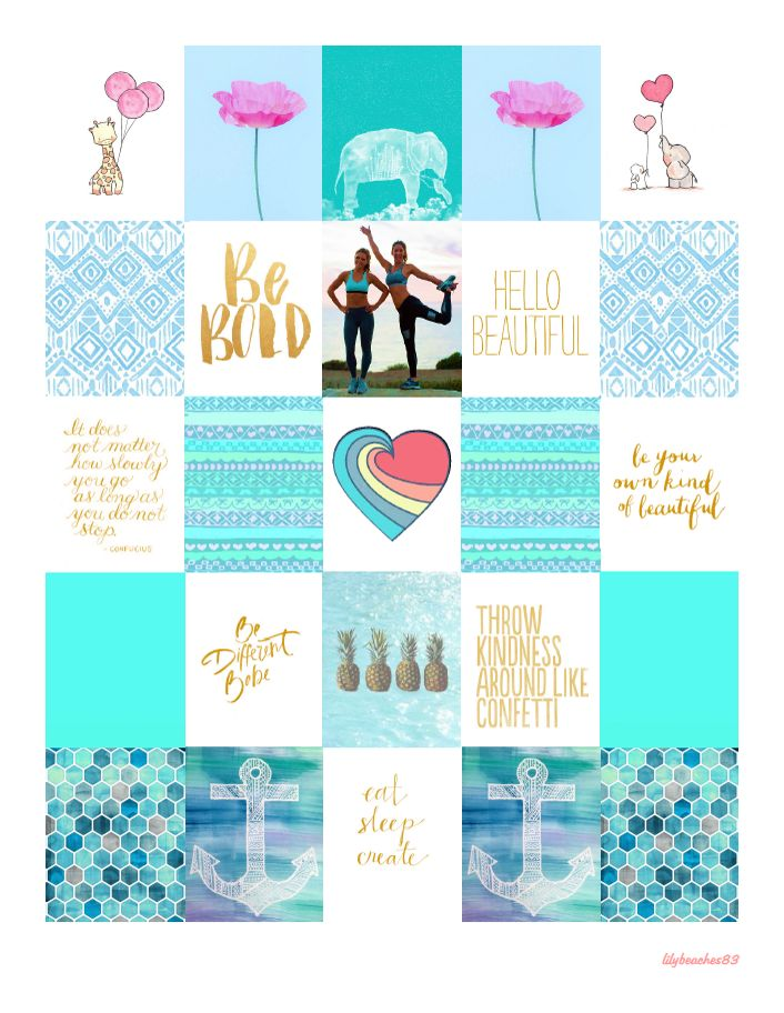 Free August 2015 Planner Stickers | Lily Beaches
