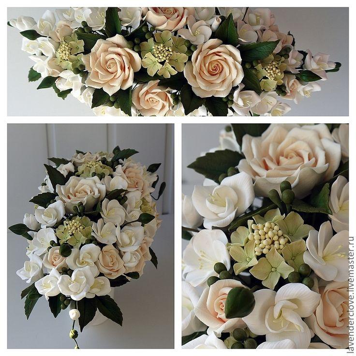 """Купить Композиция """"Флоренция"""" - интерьерная композиция, интерьерный букет, декор интерьера, розы"""