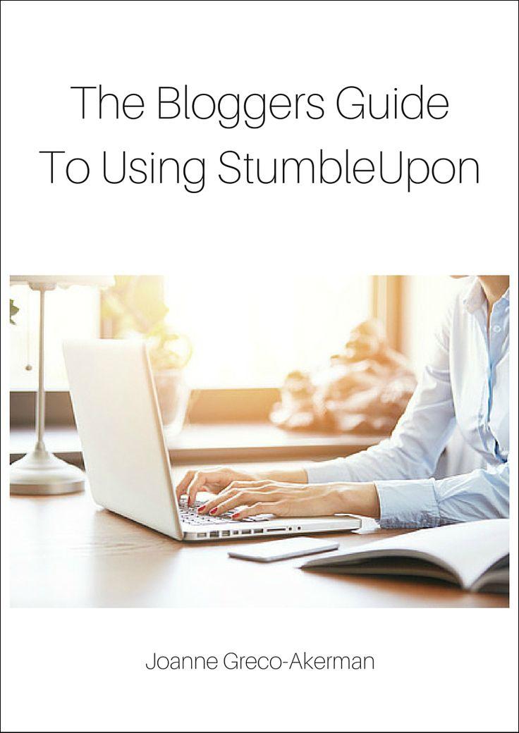 The Bloggers Guide To StumbleUpon. #socialmedia #StumbleUpon #blogging  #marketing $15