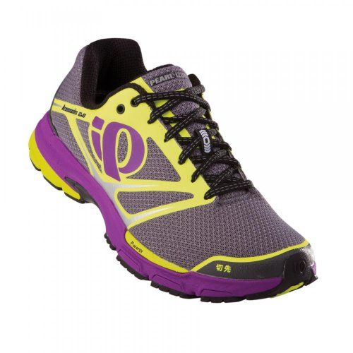 Pearl iZUMi Womens W Kissaki 20 Running ShoeShadow GreyScreaming Yellow55 M US ** You can get additional details at the image link.