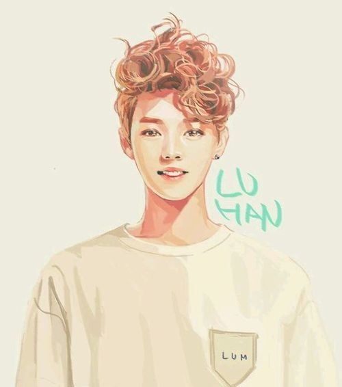 Luhan EXO fanart for Stardium