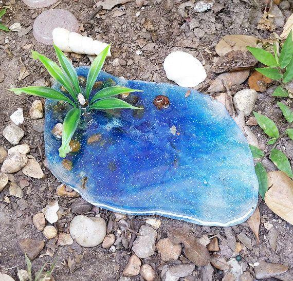 jardn de hadas estanque estanque de hadas miniatura estanque accesorios de jardn de