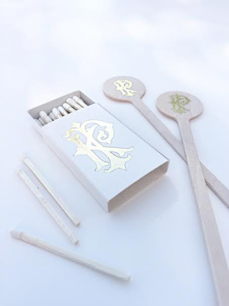 New to SipHipHooray on Etsy: Wedding Favors Wedding Matches Wedding Matchboxes Custom Matches Foil Matches Sparkler Matches Monogrammed Matches Unique Gifts (49.00 USD)