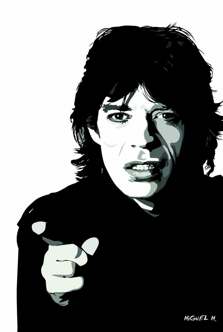 Mick Jagger::