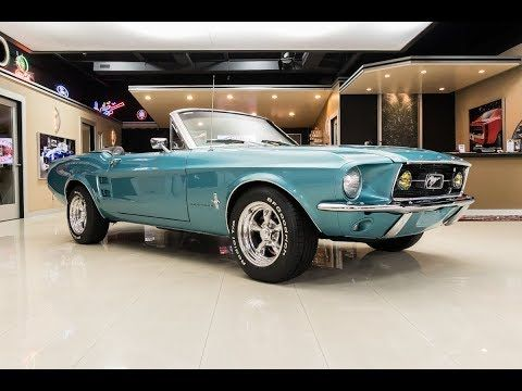 Clearwater Aqua 1967 Ford Mustang for sale located in