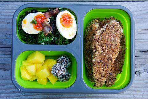 Silicone Collapsible Bento Lunch Box - GREEN - LunchBox Inc.