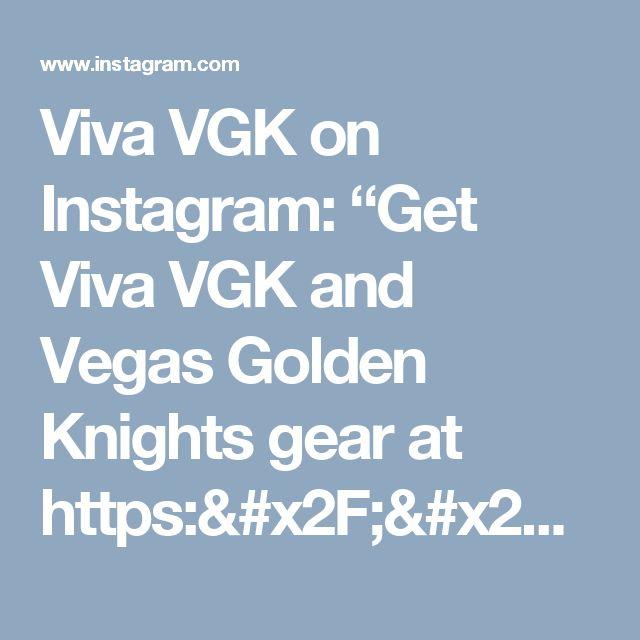 """Viva VGK on Instagram: """"Get Viva VGK and Vegas Golden Knights gear at https://www.redbubble.com/people/vivavgk  #LasVegas #Vegas #GoldenKnights #NHL #Hockey #VGK…"""""""