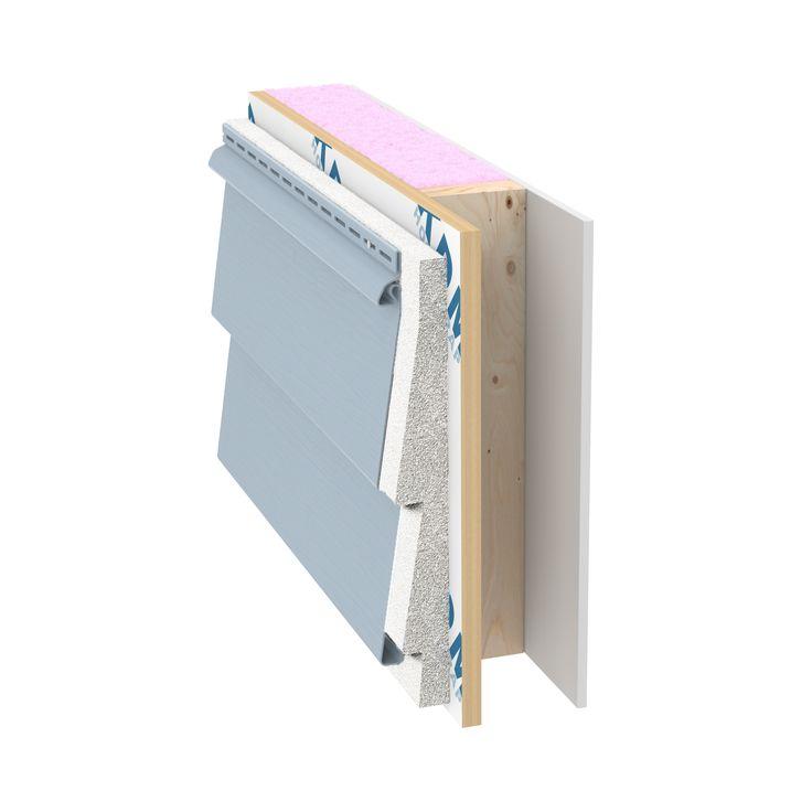 Insulated Siding Progressive Fullback V