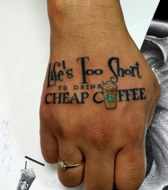 37 best images about barista tattoo on pinterest leaf for Cheap tattoos nyc
