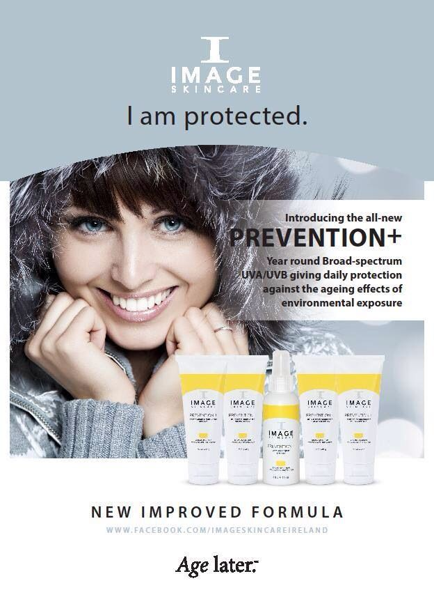 Image Skincare Daily Prevention+ for year round protection from UV damage