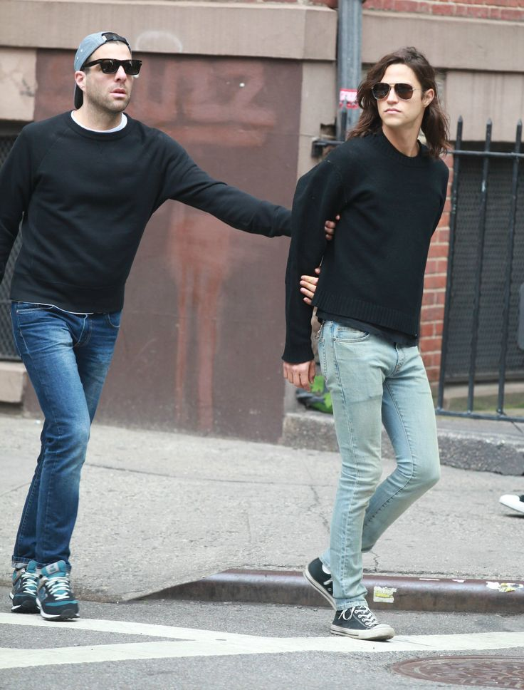 Zachary Quinto and boyfriend Miles McMillan