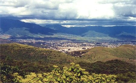 City of Oaxaca as seen from Monte Albán