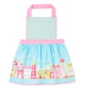 Little ladies will love to wear the Home Sweet Home apron