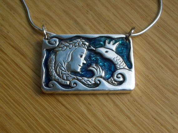 Lithuanian Egle the Queen of Serpents Sterling by undinejewellery
