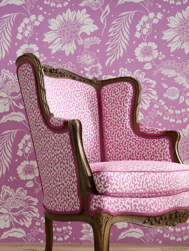 Lorca Louisiane fabric & wallpaper