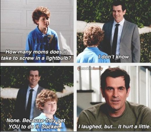 Modern Family >> Laughing so hard, Phil and Luke are the best ! - Camilla