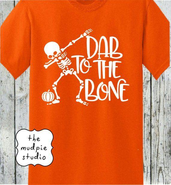 Halloween Dab To The Bone T Shirt Etsy T Shirt Mens Graphic Tshirt Mens Tshirts