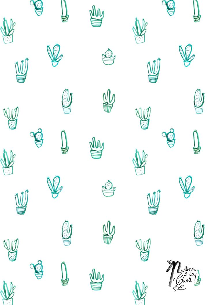 Cactus pattern #patternalacarte on The Creative Contente DIY blog