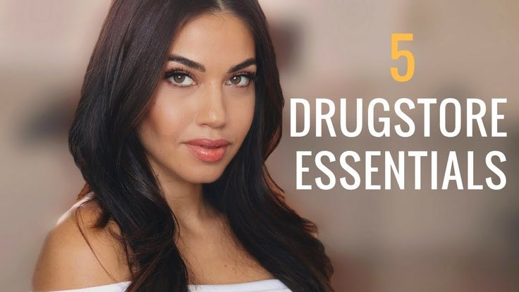 My 5 Drugstore Essentials   Top Drugstore Makeup Must-Haves   Eman
