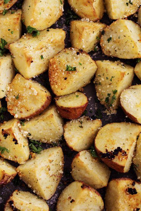 Parmesean Garlic Roasted Potatoes