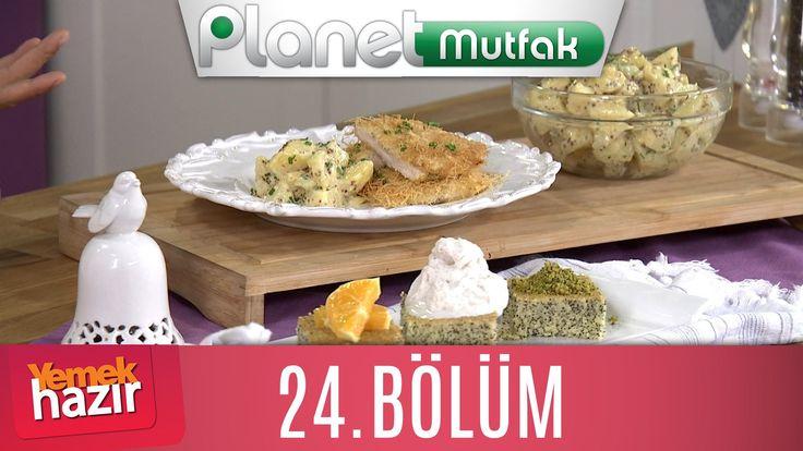 Yemek Hazır 24. Bölüm HARDALLI PATATES SALATASI - HAŞHAŞLI REVANİ - TAVU...