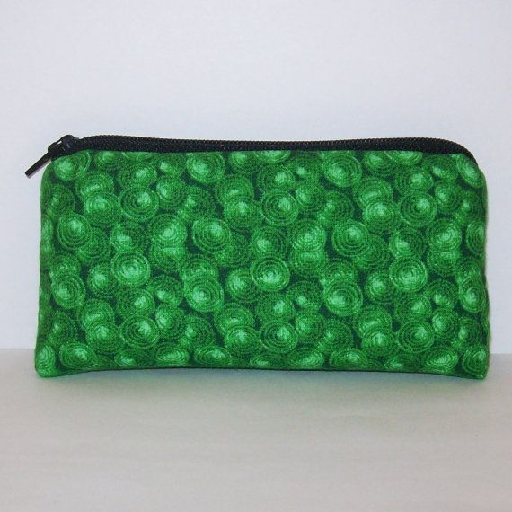 Pipe Pouch Grass Green Bag Pipe Case Glass Pipe Bag Padded by PouchAPalooza.com