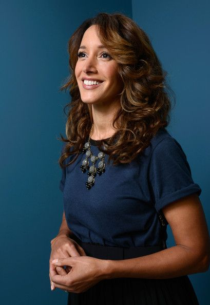 Jennifer Beals Actress/Executive Producer Jennifer Beals of 'Cinemanovels' poses at the Guess Portrait Studio during 2013 Toronto International Film Festival on September 6, 2013 in Toronto, Canada.