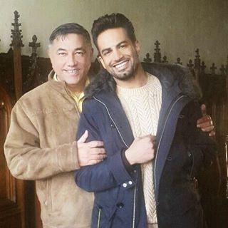 Always a blessing to work with such a great human being #mentor #teacher #storyteller #movielife #bollywood