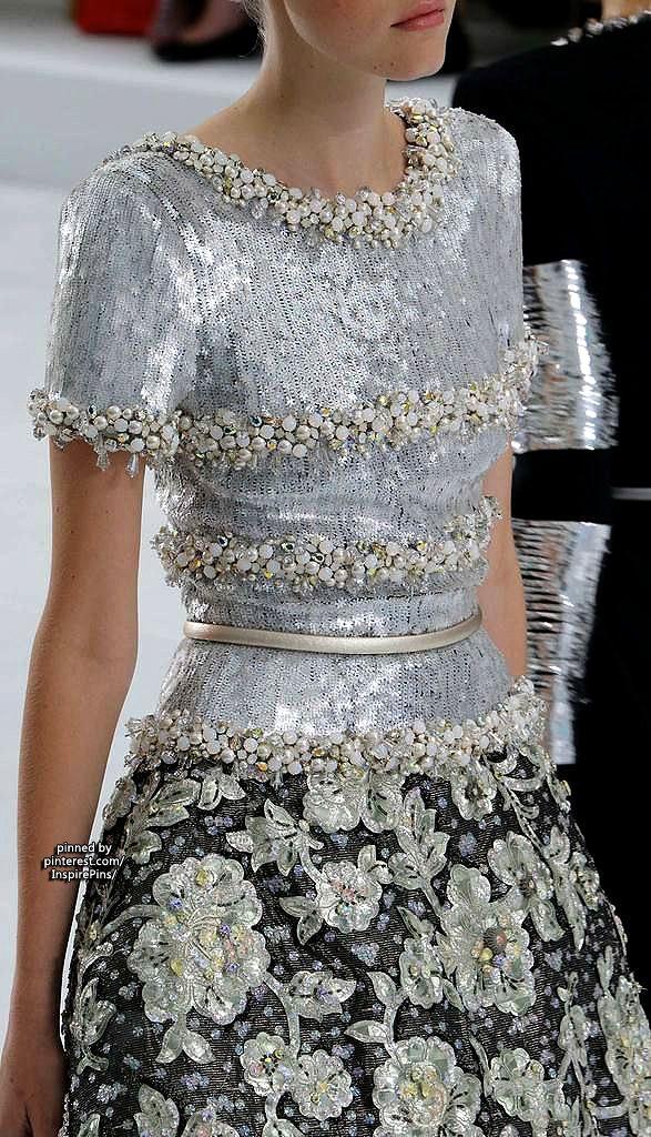 Chanel Couture 2014... Gorgeous details