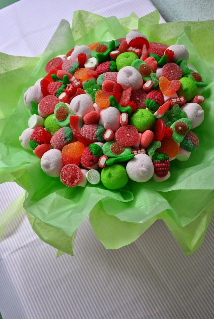 Candy bouquet | Ramo de #Chuches #Gominolas