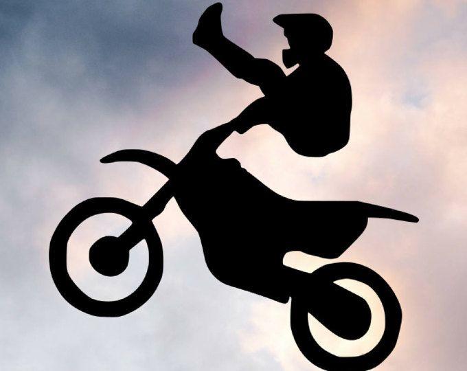 Dirtbike SVG - Dirtbike SVGs - Dirtbike Decals - Cut Files - SVGs - Svg Files - Svg Cut Files - Silhouette - Cricket - Svg Cuts - Braaap