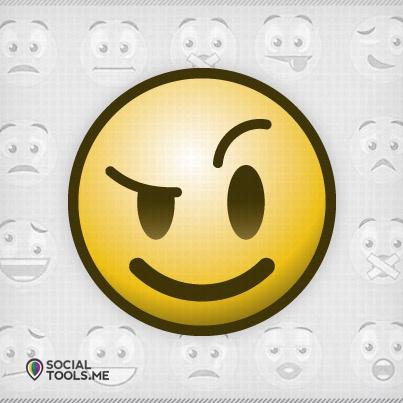 """Sentimientos en Social Media. Facebook genera nuevos emoticones que """"te harán feliz"""" - New Emoticons Will Make You :-)"""