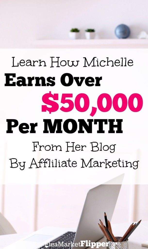 Michelle is a ROCKSTAR in the blogging world. She is the real deal. Learn how she makes more than $50K per month from affiliate marketing on her blog!