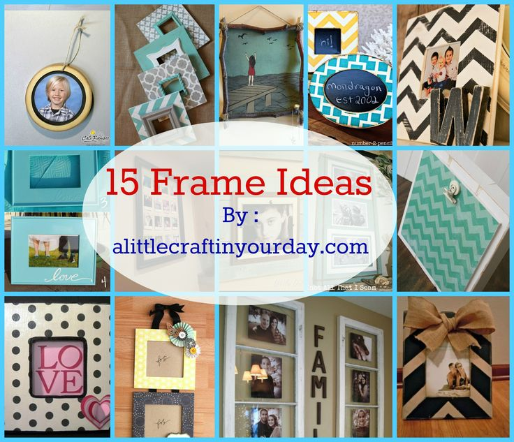 14 Diy Organization Projects Frames Ideas Craft And Diy