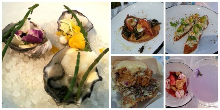 Food from Bombay Sapphire #projectbotanicals pop-up gin bar The Gin Queen | http://theginqueen.com