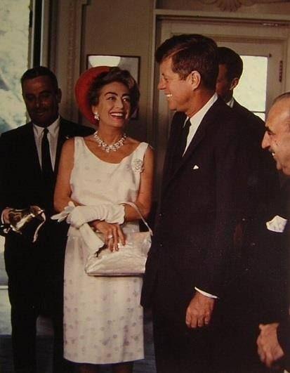 Joan Crawford and JFK May 1963