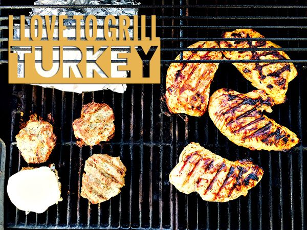 Three Bean Salad Turkey Burgers | Honeysuckle Turkey