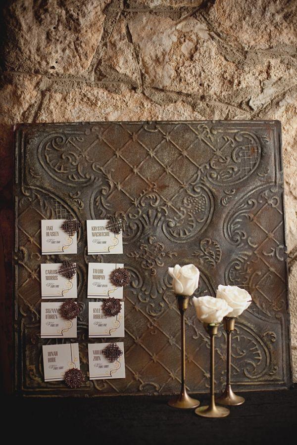 Ceiling Tile Magnetic Board.